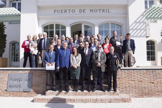 Reunión del Clúster Marítimo Marino de Andalucía y Motrilport