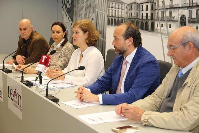 León, presentación de la Film Commission