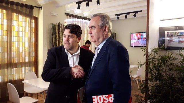 Miguel Sánchez y Tovar tras la reunión
