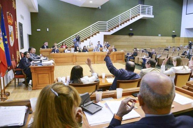 Pleno Ayuntamiento de Torremolinos (Málaga) marzo 2017