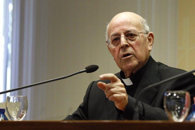 Monseñor Ricardo Blázquez, presidente de la Conferencia Episcopal
