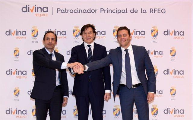 Armando Nieto, José  Ramón Lete y Jesús Carballo