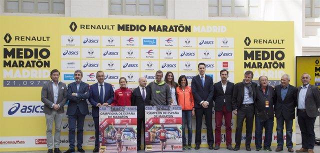 Presentación del Medio Maratón de Madrid