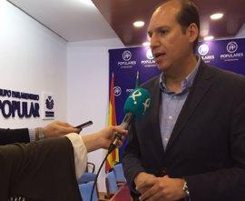 """El déficit y PIB reflejan que Extremadura va en """"sentido contrario"""" a España, según el PP"""