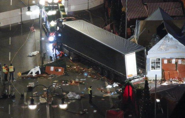 Ataque con un camión en Berlín