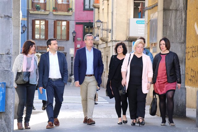 Markel Olano visita Tolosa