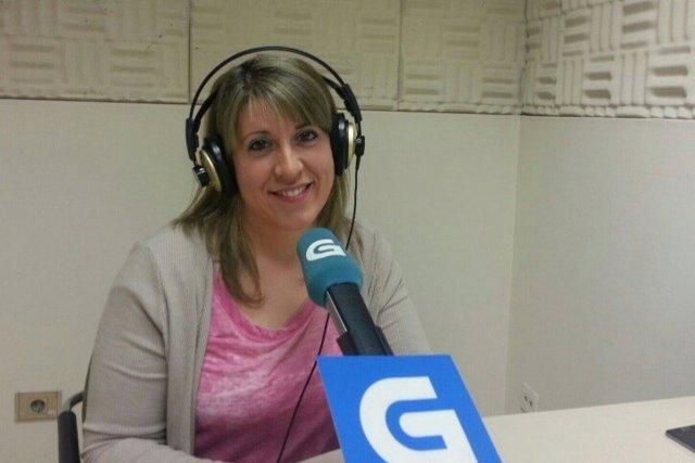 Carmen Santos, entrevistada en Radio Galega