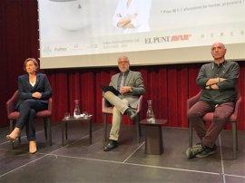 Forcadell y Llach avisan al Estado de la dificultad de frenar el proceso soberanista en democracia
