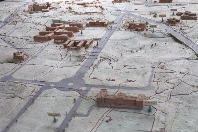 Exposición de maquetas históricas de Ciudad Universitaria