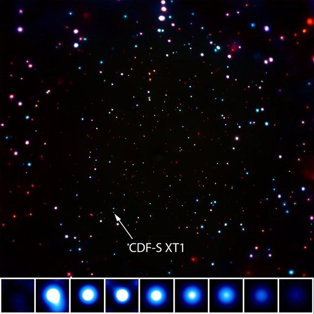 Inexplicable cataclismo cósmico a 10.700 millones de años luz