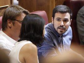 Garzón lleva al Congreso la condena a Cassandra y pide cuentas a Catalá en la sesión de control