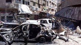 Estado Islámico reivindica el doble atentado suicida de Damasco del 15 de marzo