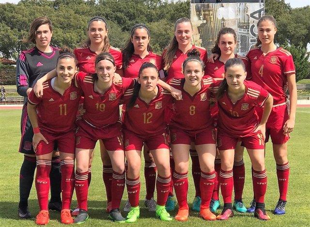 La selección española femenina Sub-17 de fútbol
