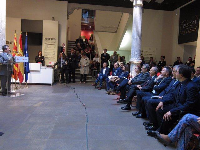 El Museo Goya ha acogido la presentación de este producto turístico