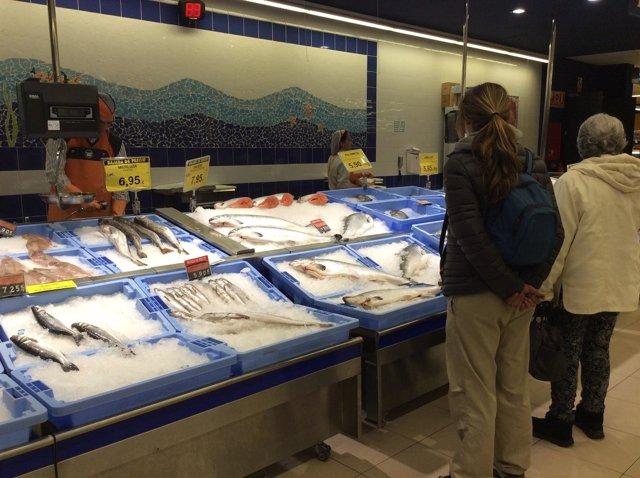 Precios, IPC, inflación, consumo, pescado, pescados, pescadería, compra