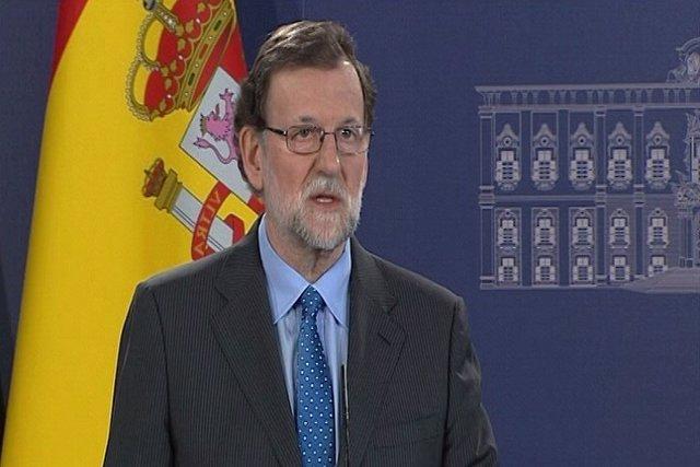 """Rajoy pide """"confianza y serenidad"""" ante el Brexit"""