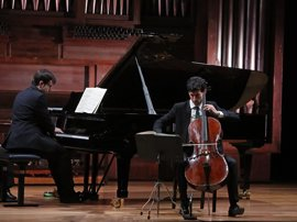 El Museo Casa Cervantes de Valladolid acoge este sábado un concierto de piano y violonchelo con el dúo Mora-Meseguer