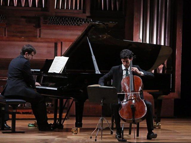 El dúo Mora-Meseguer en concierto