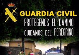 La Guardia Civil intensificará en CyL servicios de control en los tramos del Camino de Santiago