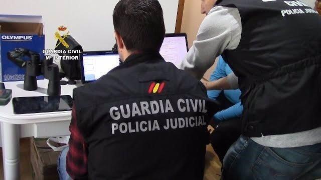 Operación de la Guardia Civil contra la pedofilia
