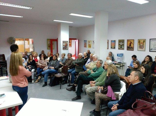 Grupo de apoyo a Susana Díaz en El Puerto