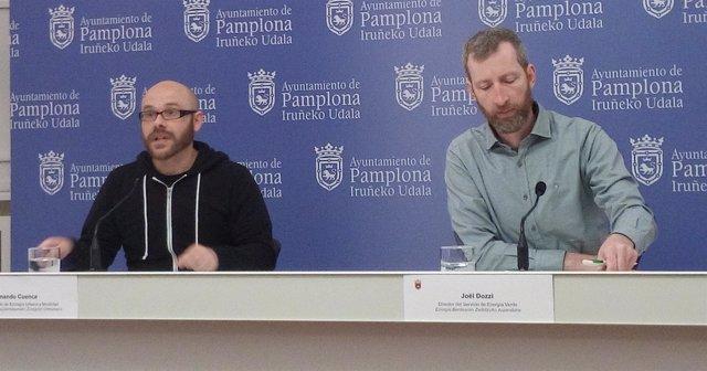 Armando Cuencua y Joel Dozzi