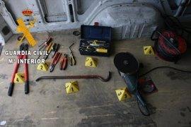 Detenidas tres personas en Marjaliza tras robar un transformador de telefonía