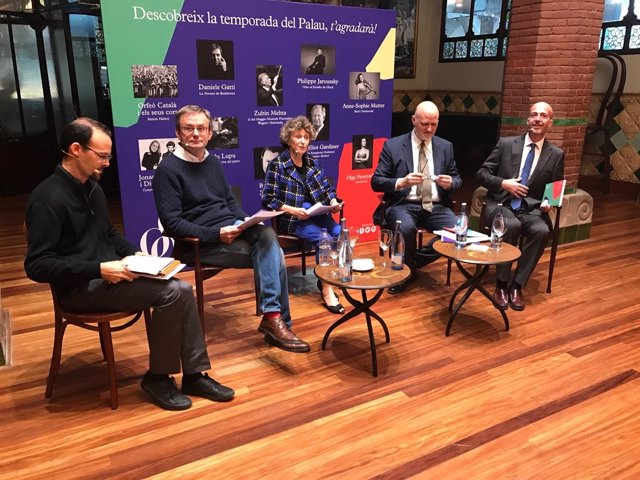 Mariona Carulla, Joan Oller, Simon Halsey (Palau de la Música Catalana)