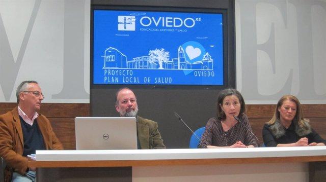 Presentación del proyecto del Plan Local de Salud para Oviedo