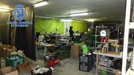 Desmantelado un nuevo taller clandestino de calzado en Arnedo