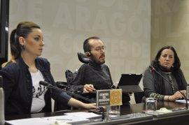 """Podemos propone investigar en las Cortes los """"despropósitos"""" del Plan de Saneamiento y Depuración"""