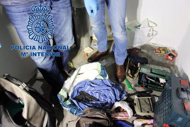 Desarticulado un grupo itinerante especializado en robos en viviendas