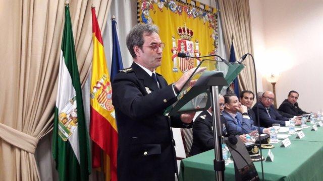 Nuevo comisario de Málaga Francisco Lopez Canedo Policía Nacional CNP 2017