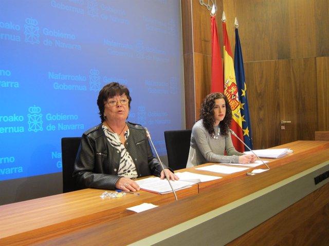 María José Beaumont y Amaia Goñi