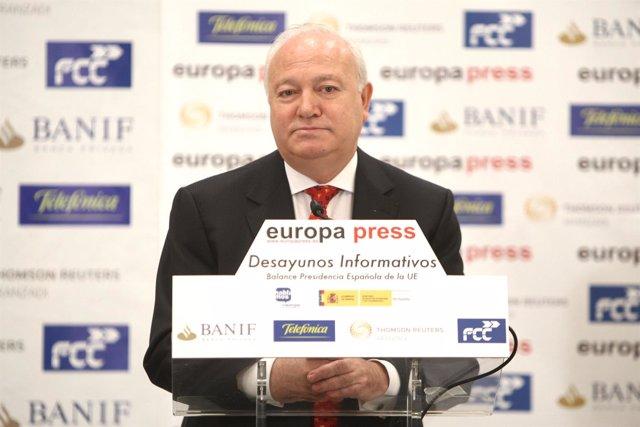 Ministro de Asuntos Exteriores, Miguel Ángel Moratinos