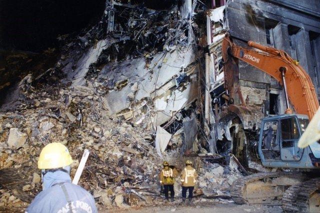 Destrucción Pentágono 11-S