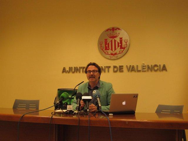 El concejal de Mobilidad Sostenible, Guiseppe Grezzi