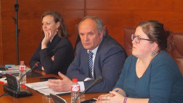 Javier  Fernández,  senador del PP y exconsejero