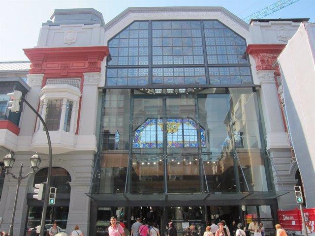 Mercado De La Ribera En Bilbao