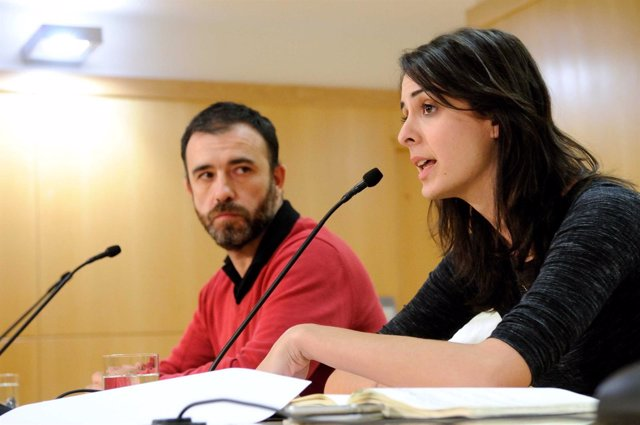 Nacho Murgui y Rita Maestre