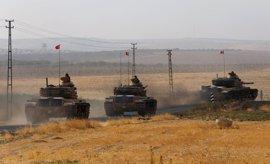 """Turquía subraya que mantendrá sus operaciones en Siria porque las """"amenazas"""" persisten"""