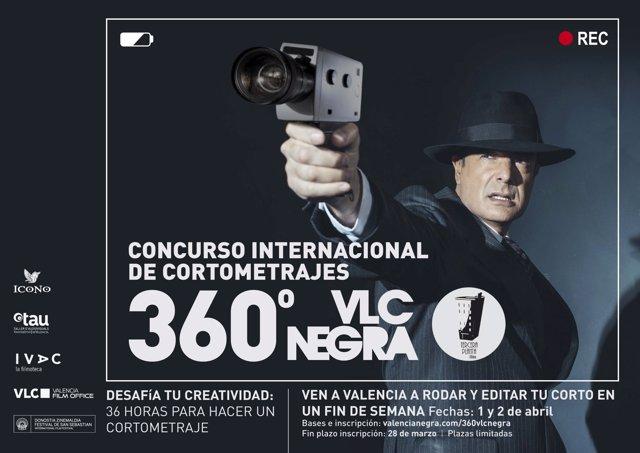 Certamen Internacional de cortos 360° VLC NEGRA