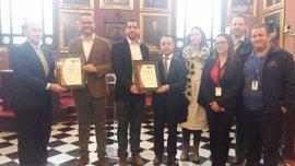 El alumbrado público de Palma recibe el certificado ISO 50001 por su gestión energética