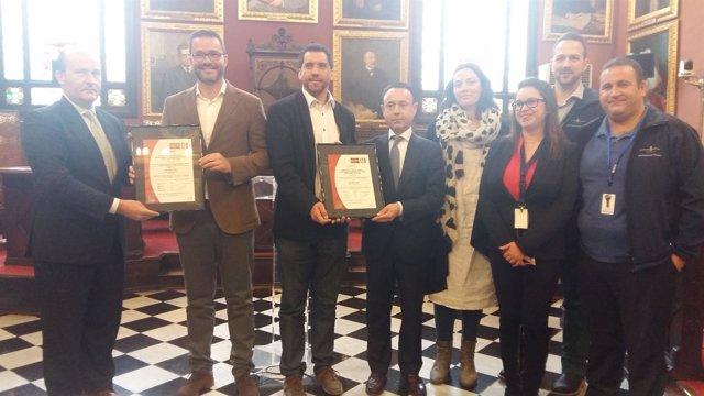 El Ayuntamiento de Palma recibe la certificación ISO 50001 por el alumbrado