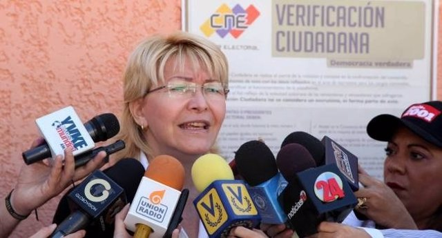 La fiscal general de Venezuela, Luisa Ortega Díaz