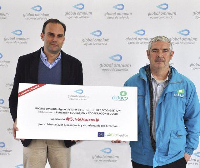 Global Omnium colabora con Fundación Educo