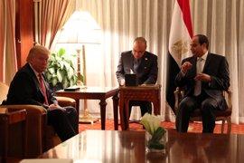 """Trump y Al Sisi discutirán un """"reinicio"""" de las relaciones bilaterales en su encuentro del lunes"""