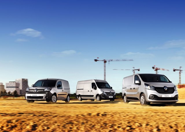 Vehículos comerciales de Renault