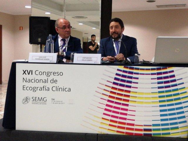 Mesa inaugural Congreso nacional ecografía Vigo