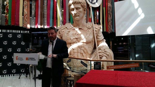 El consejero del Gobierno de Aragón, José Luis Soro